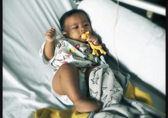 312/365: Baby B Masuk RS