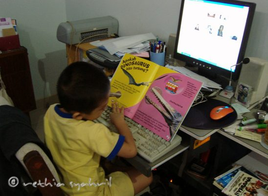 Kaysan Learn To Use Computer