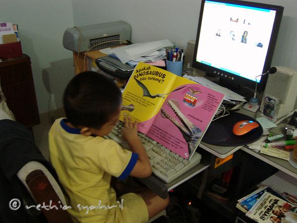 Kaysan Learn To Use Computer