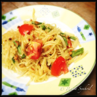 Som Tam (Salad Pepaya Muda)